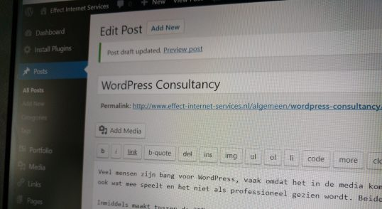 WordPress consultancy