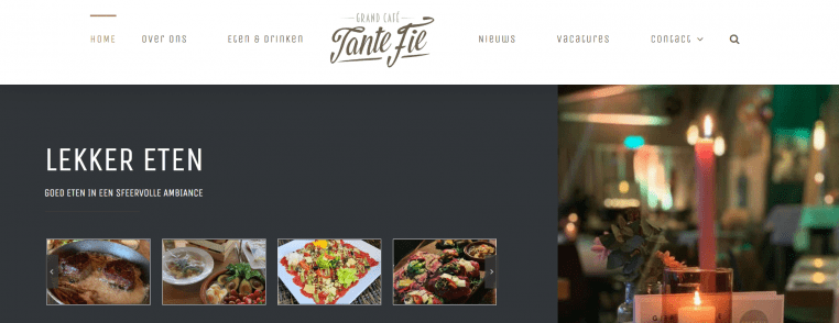 grand cafe tante fie screenshot